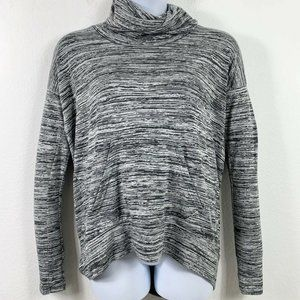 Bench Large Sweatshirt Cowl Neck Hi Low Dolman